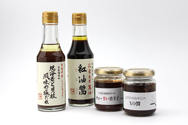 青山シャンウェイ オリジナル調味料