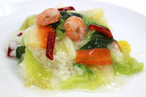 青山シャンウェイの通販人気メニュー、海鮮中華丼の具